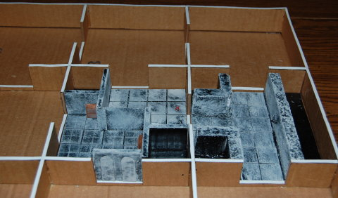dungeon board layout